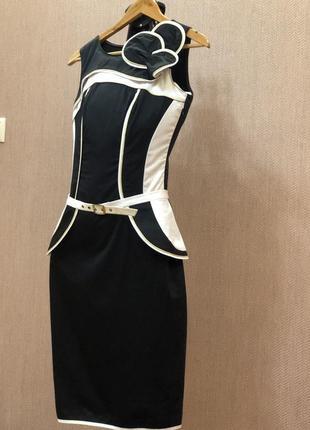 Платье tom klaim в стиле karen millen коттон3 фото