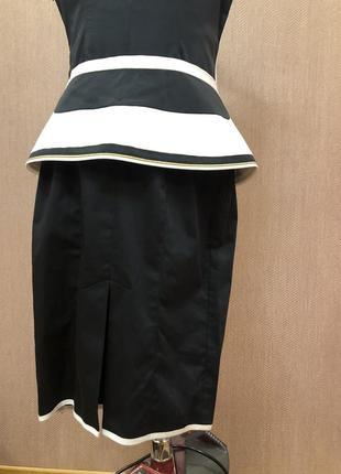 Платье tom klaim в стиле karen millen коттон4 фото