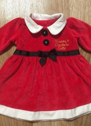 Новогоднее платье / карнавальное платье для малышки