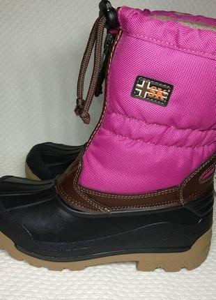 Зимние ботинки сапоги для девочки сноубутсы