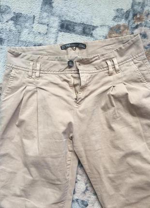 Стильные штанишки zara лето