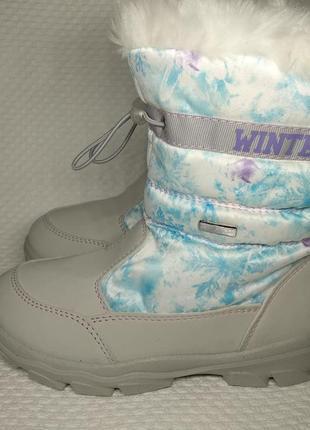 Ботинки зимние skandia для девочки