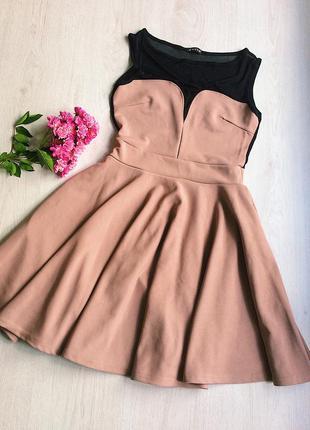 Нежное красивое короткое платье солнцеклеш 💃🏻