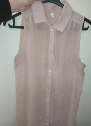 Пудровая блузка 🥰