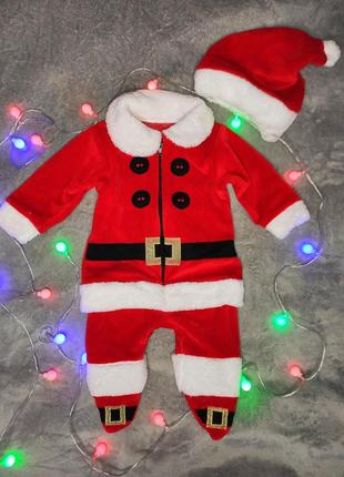 Новогодний костюм для малыша помощник санты
