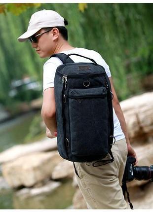 Рюкзак мужской. дорожный, вместительный рюкзак. сумка-рюкзак рк61