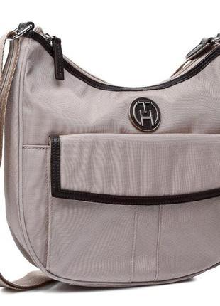 Фірмова багатофункціональна сумка кросбоді американського бренду tommy hilfiger! оригінал!