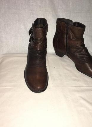 Ботинки *bonita* кожа германия р.38 (25.00 см)
