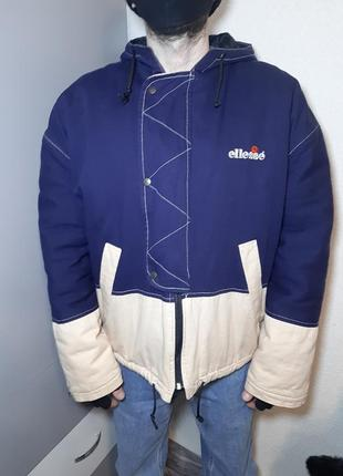 Ретро парка ellesse made in italy 1998год l.xl