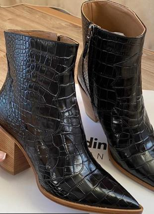 Казаки ботинки ботильоны сапожки baldinini