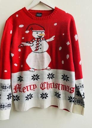 Шикарный новогодний свитерок christmas #1589 sale❗️❗️❗️black friday❗️❗️❗️