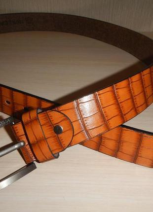 Кожаный ремень americanizo р.125см