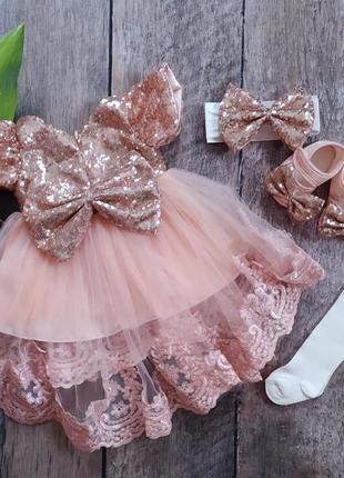 Прекраное платье для малышки