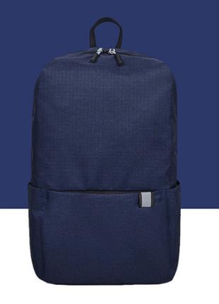 Рюкзак colorful backpack 1196 dark blue