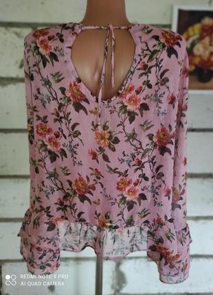 Шикарна шифонова блузка