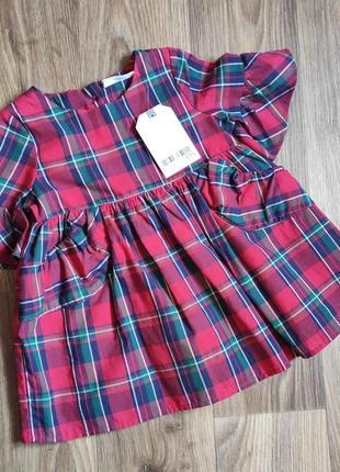 Красивое платье на девочку 3-6 мес
