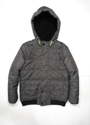 Красивая демисезонная куртка мальчику mckenzie, 7-8 лет