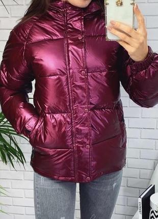 Зимняя куртка на холлофайбере 46 рр