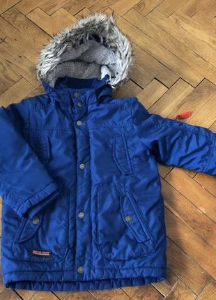 Куртка демесезонная еврозима h&m 4-6 110