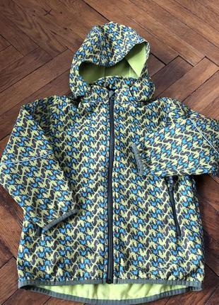 Куртка ветровка флиска 4-5-6 116-122 lupilu jako-o