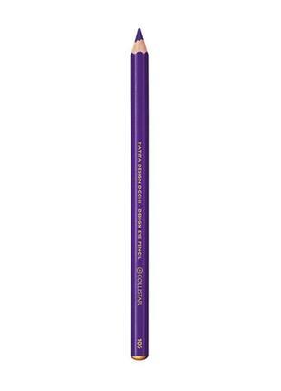 Карандаш для глаз collistar design eye pencil 105 viola