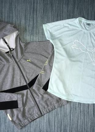 Фірмовий набір спортивка вітровка футболка puma