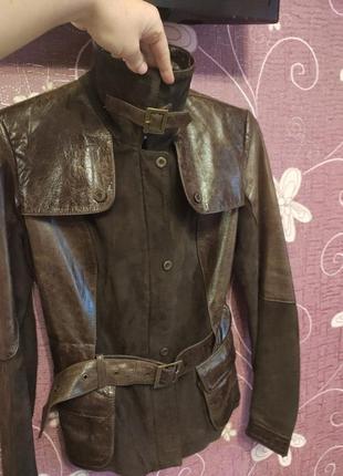 Новая куртка натуральная кожа