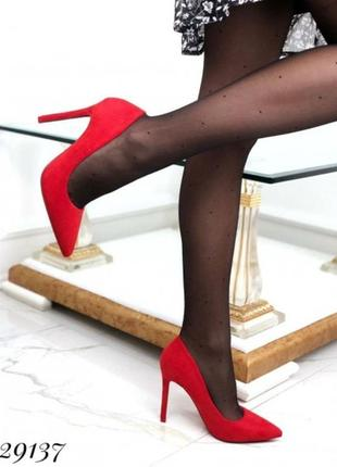 Лодочки на высоком каблуке
