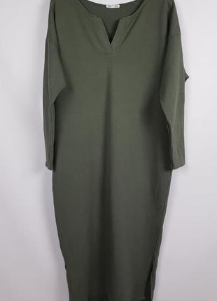 Платье натуральное в бохо стиле италия