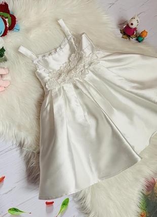 Нарядное платье monsoon девочке 1-1.5 года