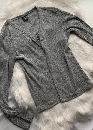 Кардиган пиджак накидка кофта colins xl