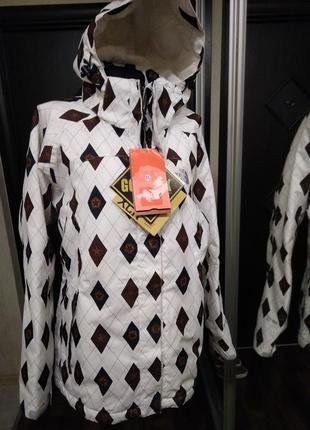 Лыжная городская спортивная куртка на синтетическом утеплителе гортекс