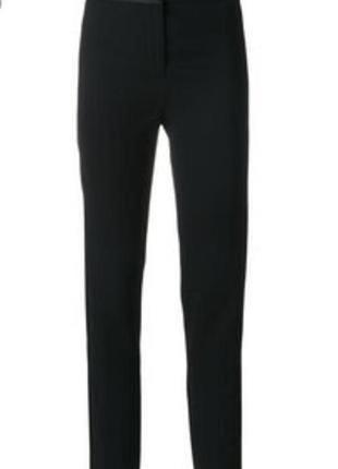 Чёрные женские плотные брюки # женские штаны из плотной ткани # m&s
