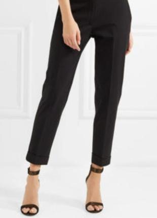 Чёрные женские брюки # классические брюки # f&f