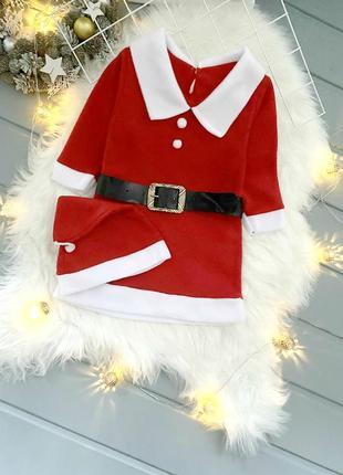Красивое новогоднее платье для девочки