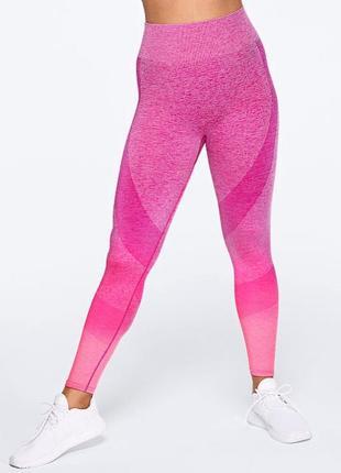 Яркие леггинсы victoria's secret pink