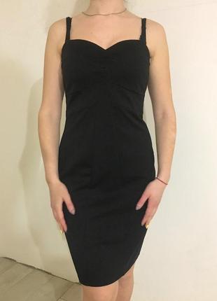 Чёрное платье incity