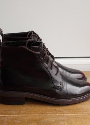 Прикольні черевички zara (шоколадний колір)