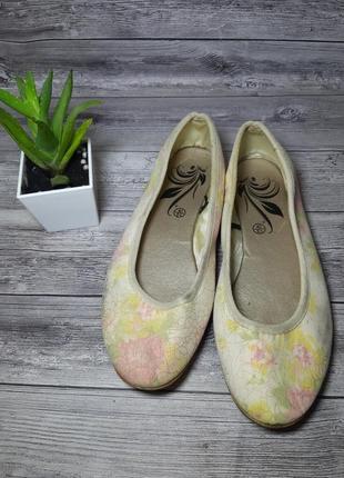 Красивые балетки в пастельных тонах 40р