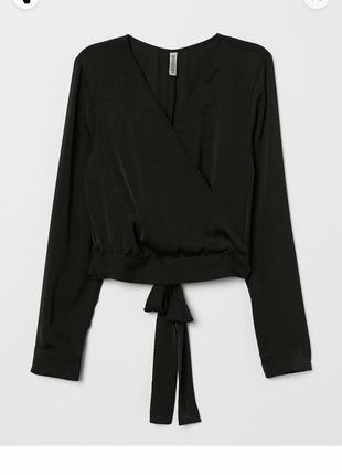Шикарная блузка stradivarius на запах