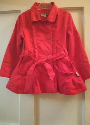 Детское пальто весеннее
