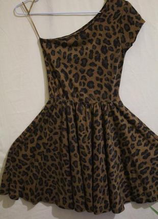 Платье на одно плечо юбка солнце