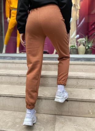 Штаны теплые. спортивные штаны зимние. штаны трехнитка на флисе2 фото