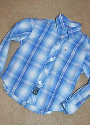Рубашка tommy hilfiger р.3 года 98 см оригинал