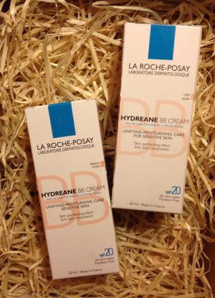 Увлажняющий bb крем для чувствительной кожи la roche posay hydreane bb cream распродажа!