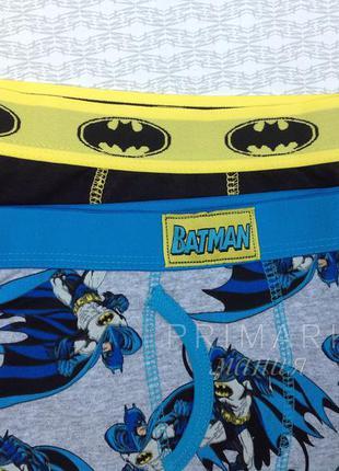 """Трусики - боксеры """"бэтмен"""" (98 см) primark"""