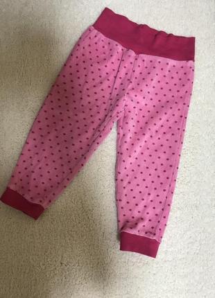 Велюровые штанишки