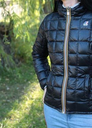 Куртка пуховик двусторонняя k-way