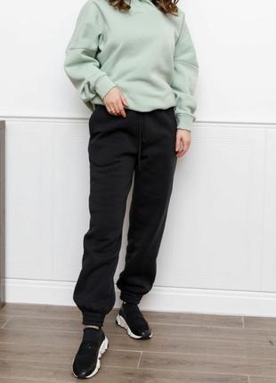 Утепленные флисом повседневные брюки