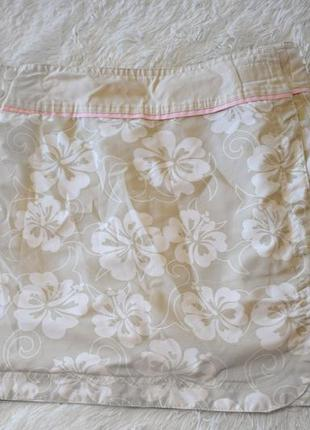 Котоновая юбочка на запах две стороны